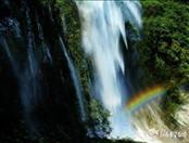 岳西大别山彩虹瀑布、原生态猴河峡谷一日游